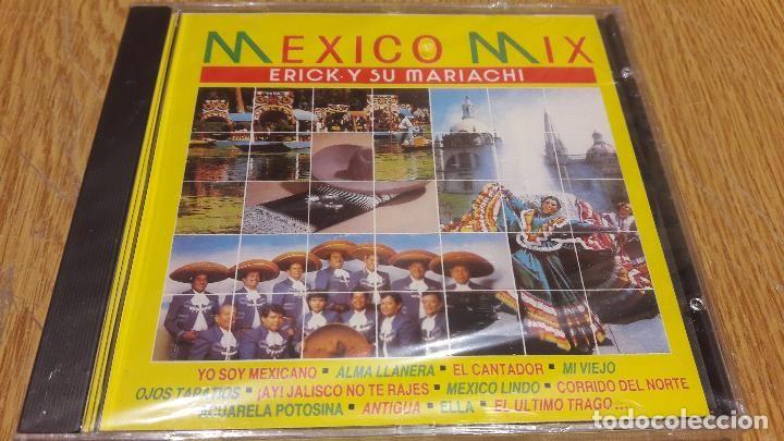 ERICK Y SU MARIACHI / MEXICO MIX / CD / DIVUCSA - 1991 / 8 TEMAS / PRECINTADO / MUY DIFÍCIL.