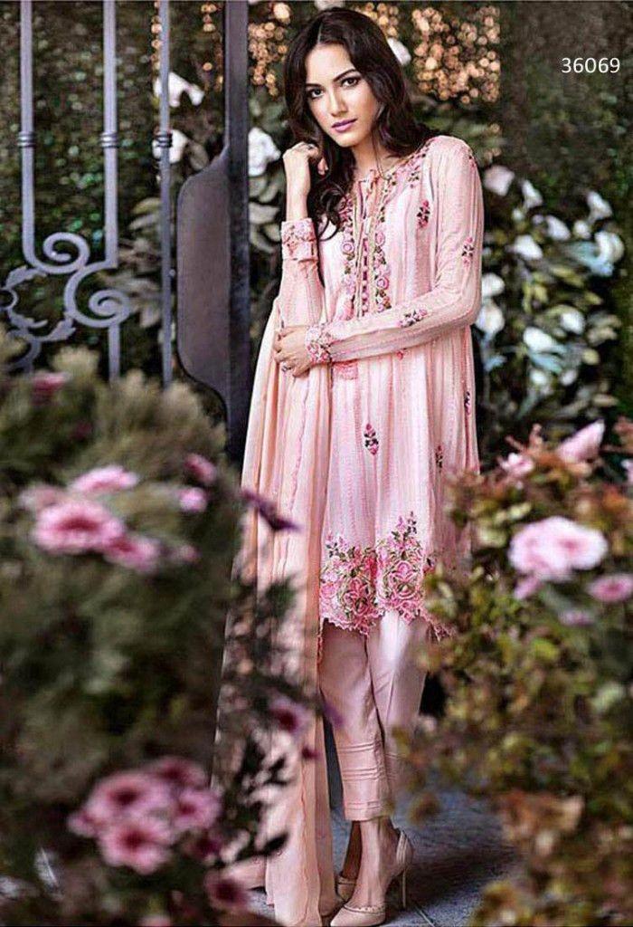 Georgette Pink Designer Salwar Kameez..@ fashionsbyindia.com #salwar #india