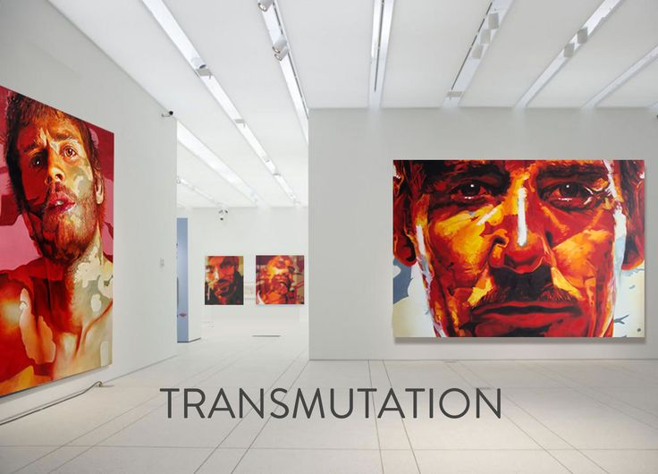 View of the Transmutation Exhibition - October 2014 #art #painting