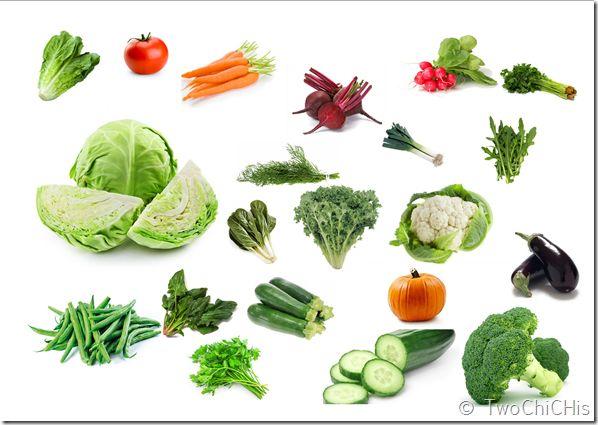 Λαχανικά του Οκτώβρη. October's veggies