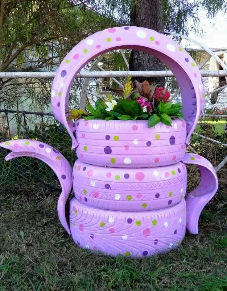 Tire teapot