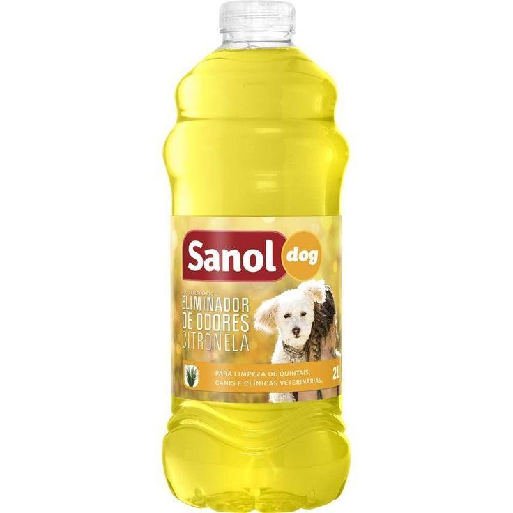 SANOL Eliminador de Odores Citronela 2LT