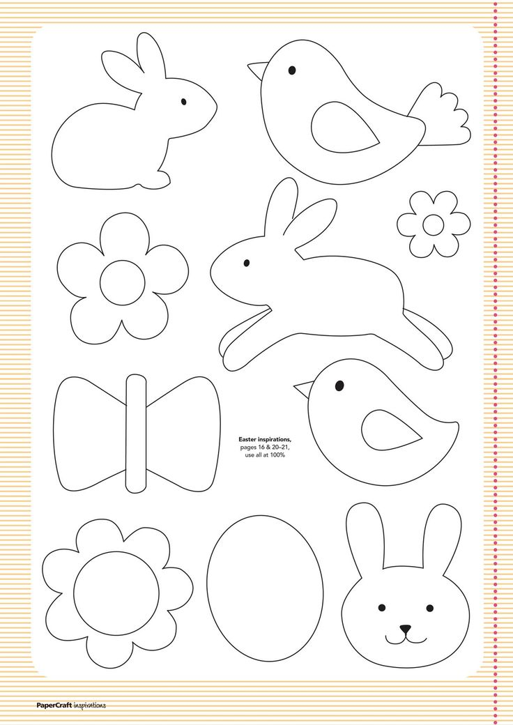 FREE Templates from your April issue... | Papercraft Inspirations