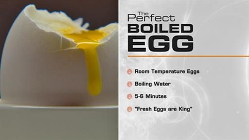 The perfect…. Soft boiled egg