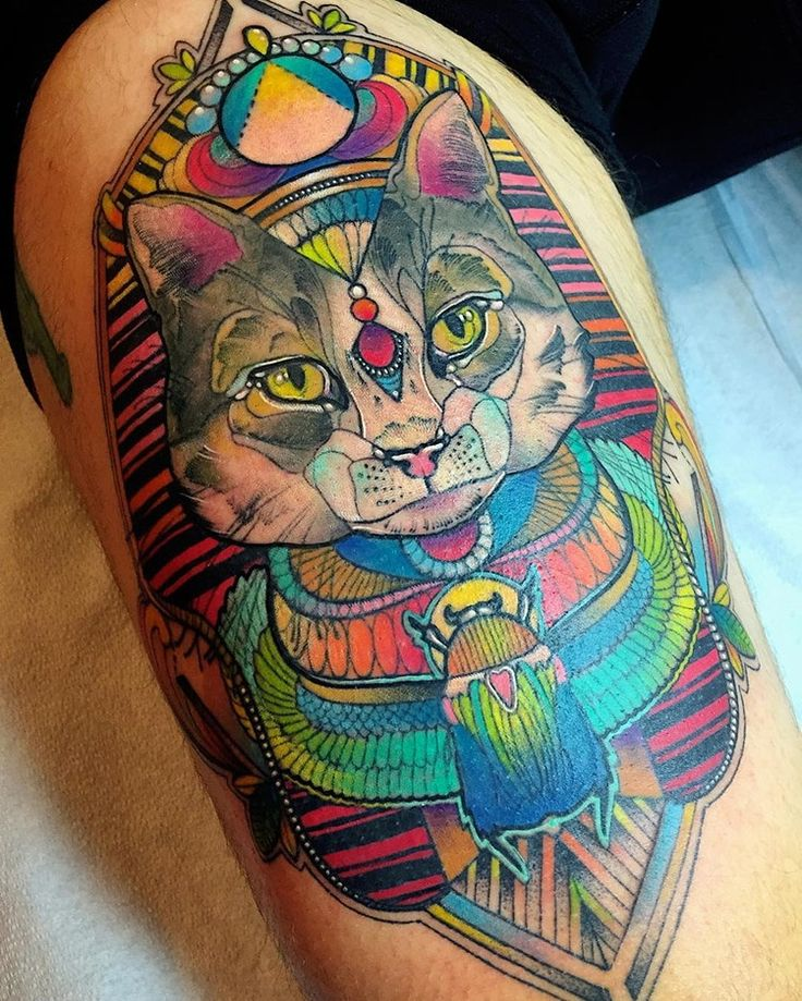Katie Shocrylas Psychedelic Tattoos In Exquisite Thin Lines And Vibrant Hues #art #canada #colortattoo #katieshocrylas #kshocs #psychedelic #tattoo #tattooart #vancouver
