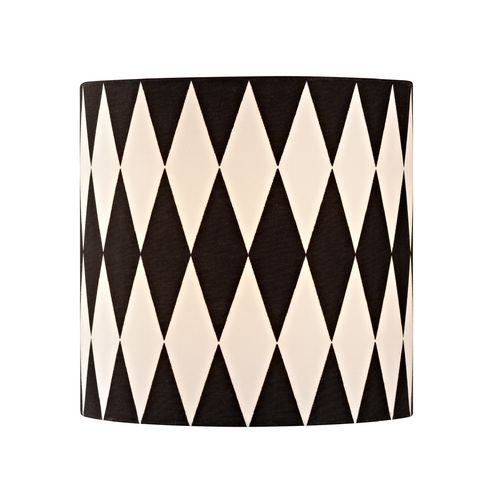 92 best lamp shades galore images on pinterest lampshades black white drum lamp shade with uno assembly aloadofball Choice Image