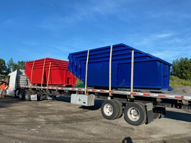 What Size Dumpster Do You Need Size Typical Dimensions 10 Cubic Yards 14 Ft Long By 7 5 Ft Wide By 3 5 Ft High 15 Cubic Yards 1 In 2020 Dumpsters Deland American Made
