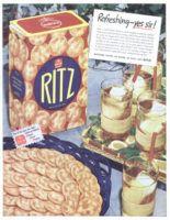 Nabisco Ritz Crackers 1946 Ad via Advertisement Ga…