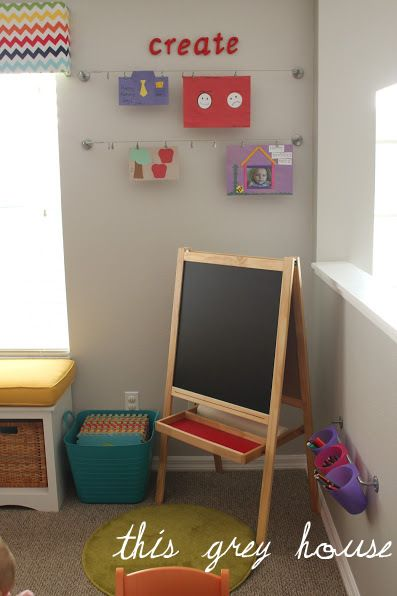 how to build an easel cheap