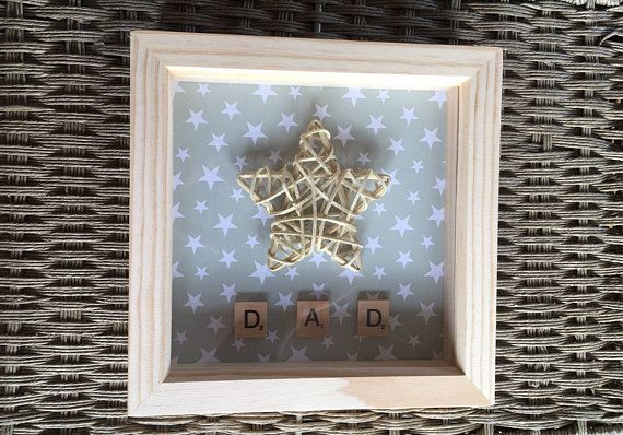 Unique Star Frame perfect Father's Day Gift for any