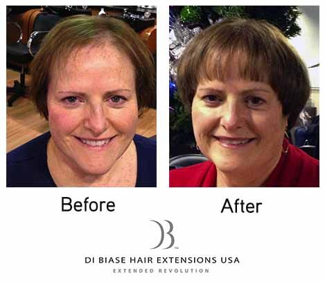 23 best before after di biase hair extensions usa images on dibiase hair extensions are a solution to thinning hair pmusecretfo Gallery