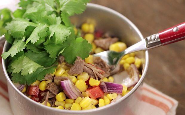 Salada mexicana com músculo - Cozinha Prática - GNT