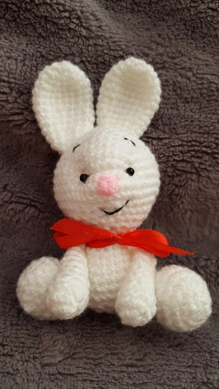 Háčkovaný králíček/ crochet bunny