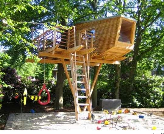 Best Fibonacci Treehouse By Blue Forest Images On Pinterest - Contemporary banyon treehouse california