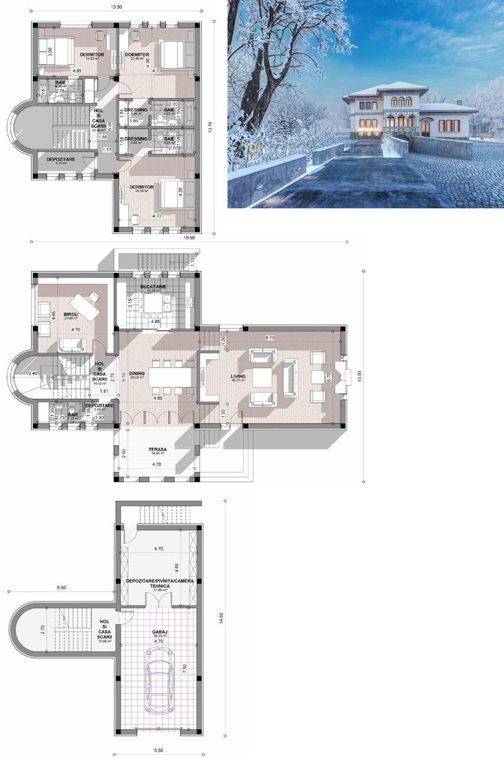 Proiect Casa Stil Neoromanesc V1 Din Categoria Proiecte Case Stil  Neoromanesc . Peste 170 De Modele Case Cu Arhitecturi Functionale Incadrate  In Bugetele ...