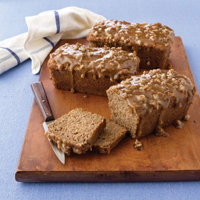 Apple Praline Bread...the praline topping compliments the moist apple bread...great with coffee or tea