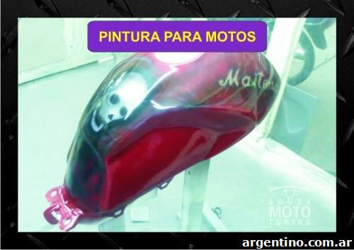 Restauración, pintura, aerografía desde 600 pesos motos completas, calcos, súper promo verano en Rosario 3
