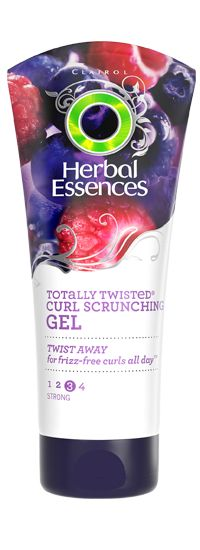 Herbal Essences  Totally Twisted curl scrunching gel for curly hair.  If you don't want to spend the money on DevaCurl, use this.