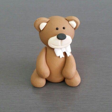 3D Teddy Cake Topper