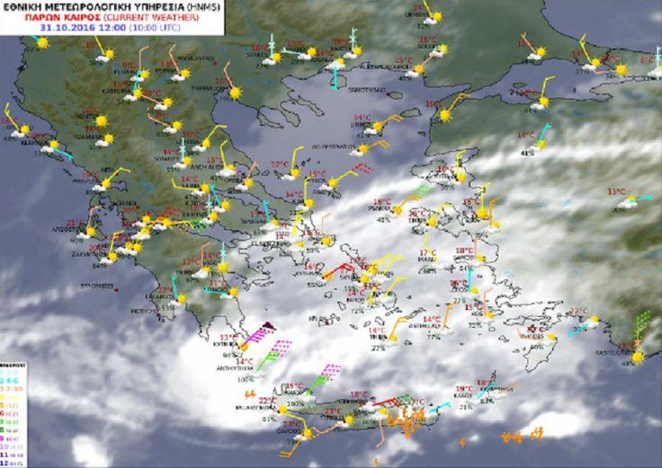 Στο «μάτι» του Κυκλώνα η Κρήτη – Δυο τραυματίες