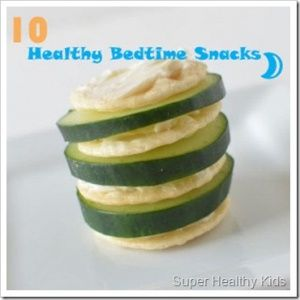 Bedtime Snacks:  10 Quick and Healthy Ideas | Recipes