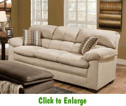 Lakewood Doe Sofa By Simmons At Furniture Warehouse