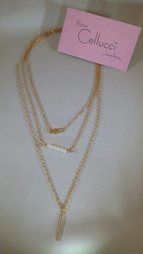 Cellucci Jewellery simple fashion necklace #pearl #fashion #necklace#montreal