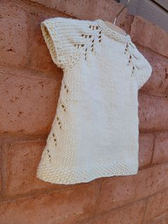 Little Knit Dress Pattern. Newborn to 10 years