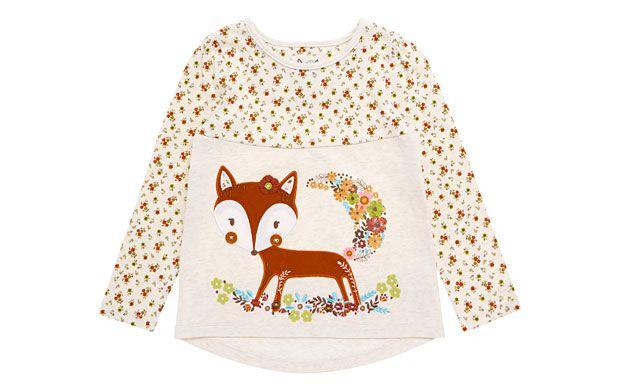 Fox Motif Top - Children - Tu Clothing At Sainsbury's