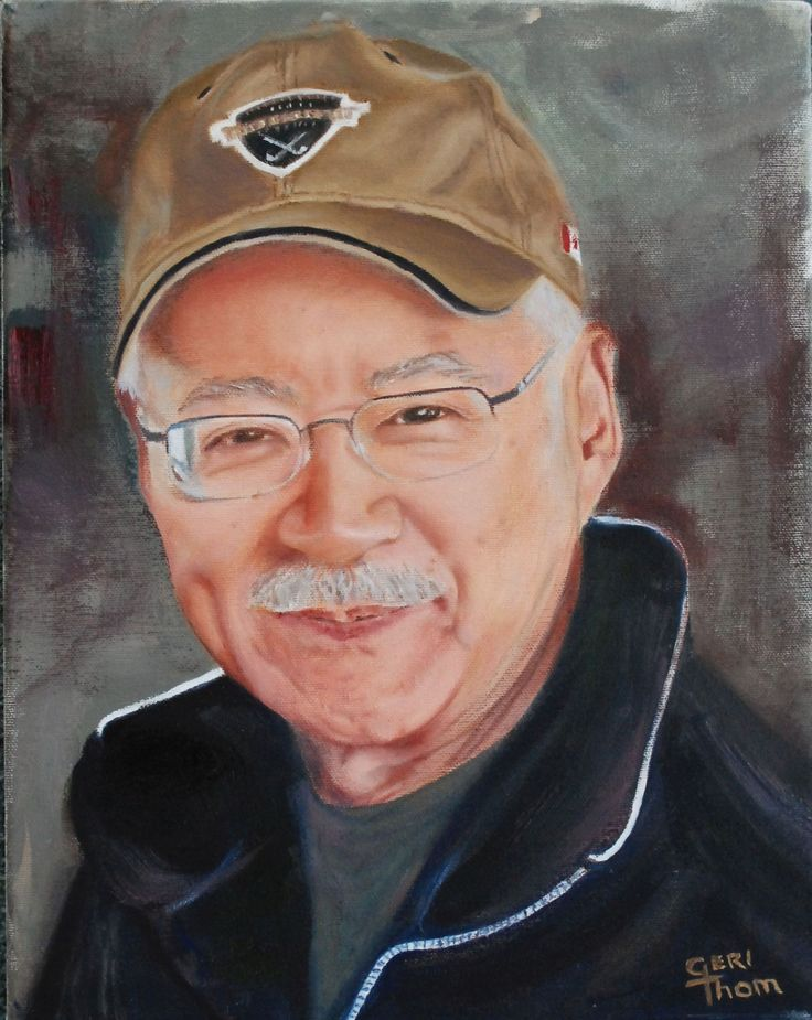 My painting of our dear friend Ken K