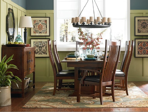 Grove Park Dining Room By Bassett Bassett Custom Dining