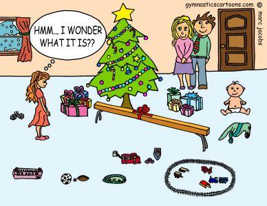 Výsledek obrázku pro cartoon gymnastics funny jokes