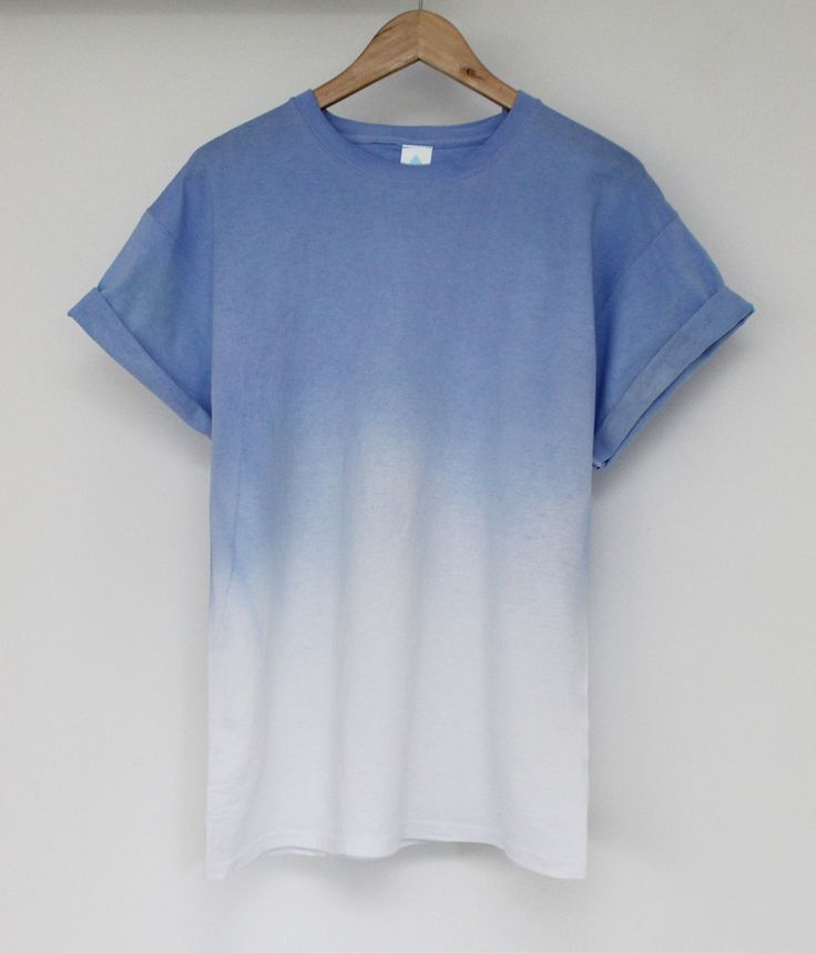 LAVENDER AND DIP DYE TEE