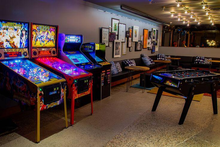 Moxy Phoenix Tempe/ASU Area The Lounge Arcade Games