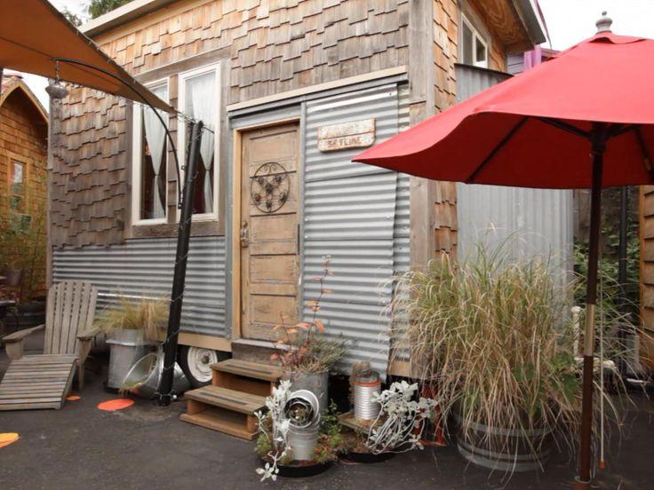 Tiny House Hotel; Portland, Oregon : 7 Tiny Vacation Getaways Around the Country : TravelChannel.com
