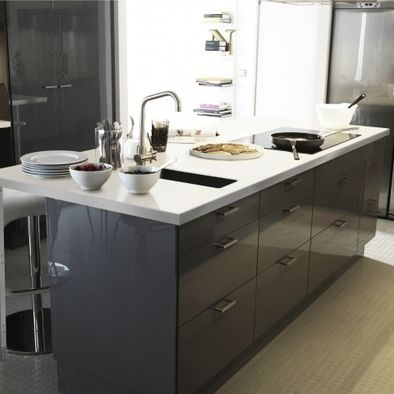 high gloss grey bathroom cabinets 1000 ideas about ikea kitchen units on gray 23322 | 0ee03e90cb046afe87f16971788b25ca