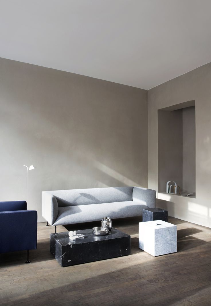MENU, Location Pictures, Kinfolk Studio, Godot Couch, Plinth Marble, Peek Floor Lamp