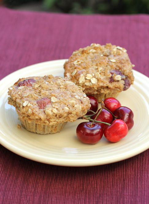 Cherries and oats galore in these hearty muffins by Pastry Chef Joanne Chang.