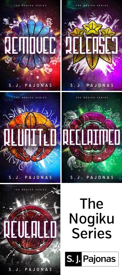 Cover Reveal: The Nogiku Series by SJ Pajonas