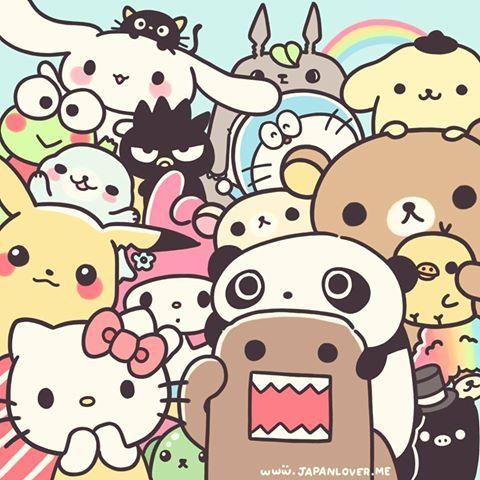 Aaaaaaaaahhh!!! All my fav characters in ultra-cute form!!