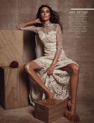 Suecia #weddingdress by YolanCris in Vogue Novias  #YolanCris #HauteCouture #fashionbrides #original #bridalgown #weddingideas #handmade #Romantic #Natural