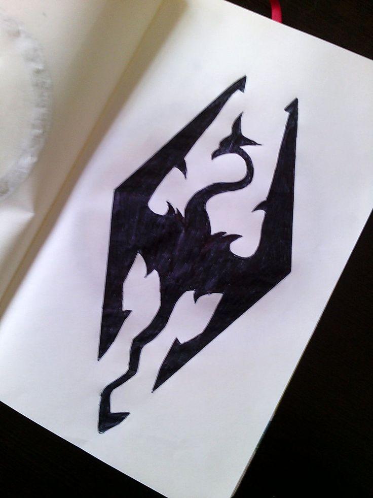 Skyrim Symbol by Ashattack42