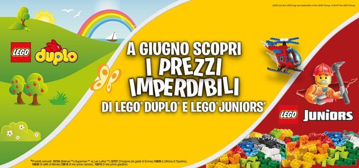 #Lego #Duplo e #Juniors ad un prezzo imperdibile! Vieni in negozio ed approfittane subito! Scade il 30 giugno!