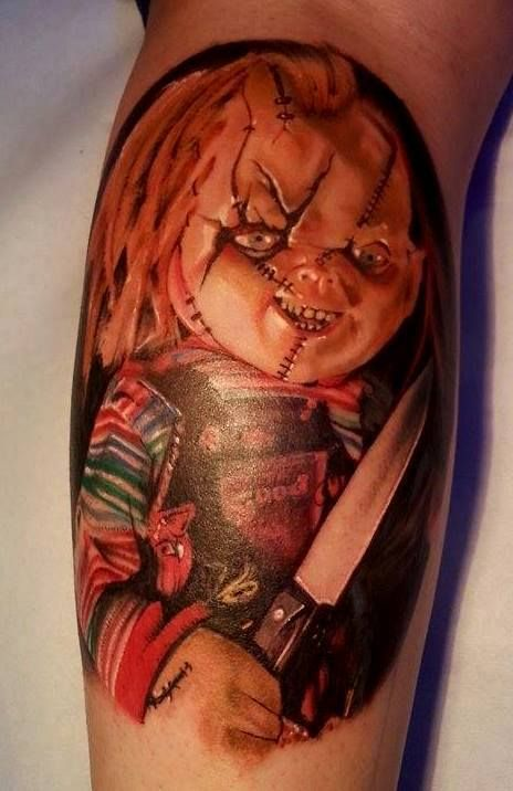 Best 25 chucky tattoo ideas on pinterest tiffany chucky for Revival tattoo and piercing