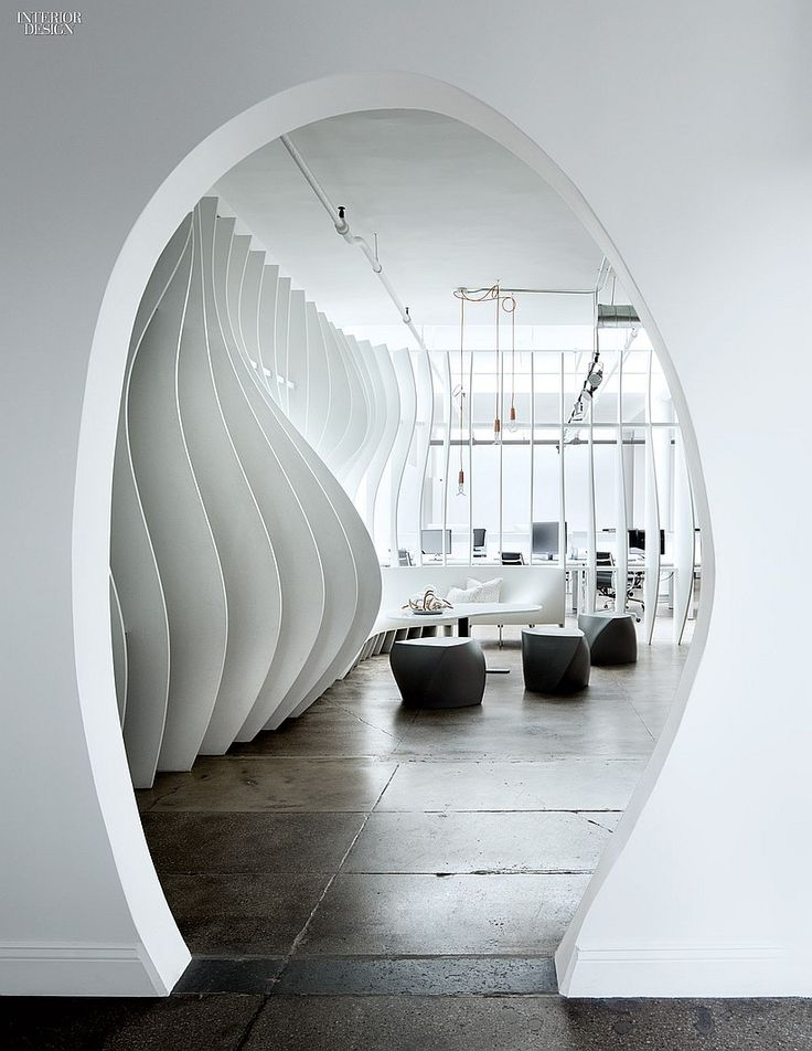 Curves La Mode Piret Johanson Redesigns Valtechs NYC Office Interior DesignArchitecture