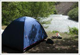 Les emplacements rivière - Camping des Gorges du Verdon de Castellane