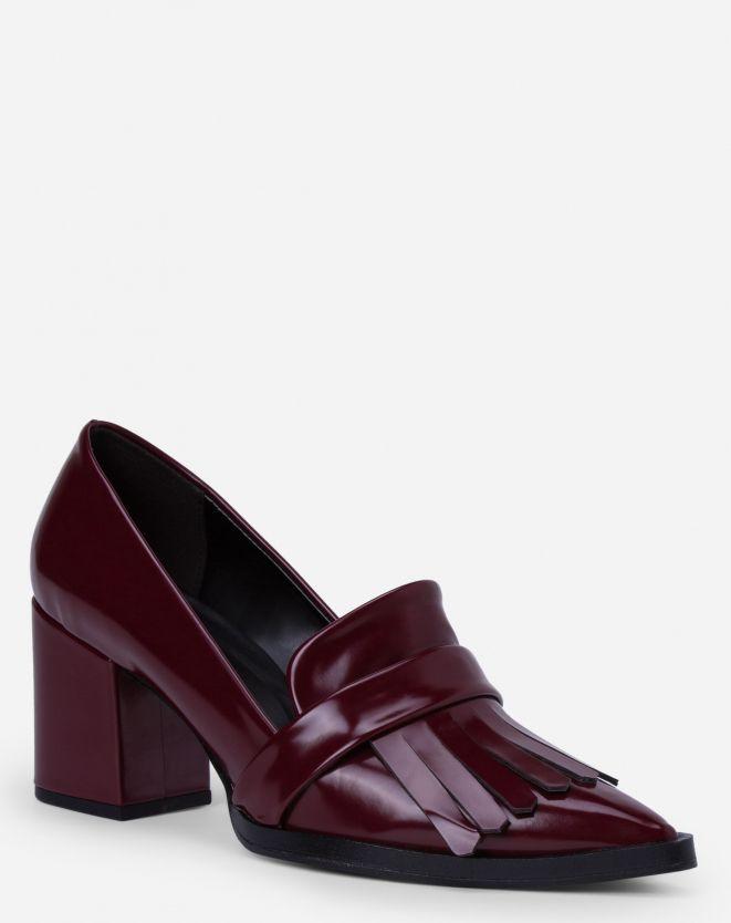da76352ea Mocassim de salto com franja | Sapatos | Shoes ❤ | Pinterest | Zapatos,  Zapatos lindos e Zapatillas