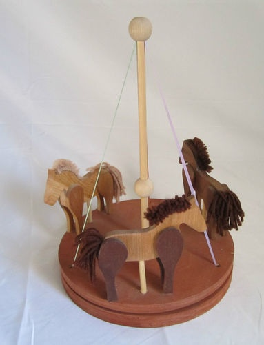 35 best images about carousel on pinterest pull toy toy for Wooden horseshoes for crafts