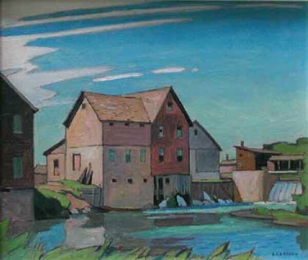 The Mill by A.J. Casson