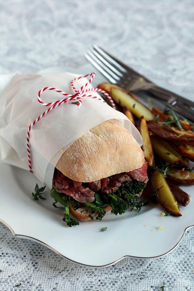 Epic Christmas Burger: broodje ossenhaas met citroen aardappeltjes